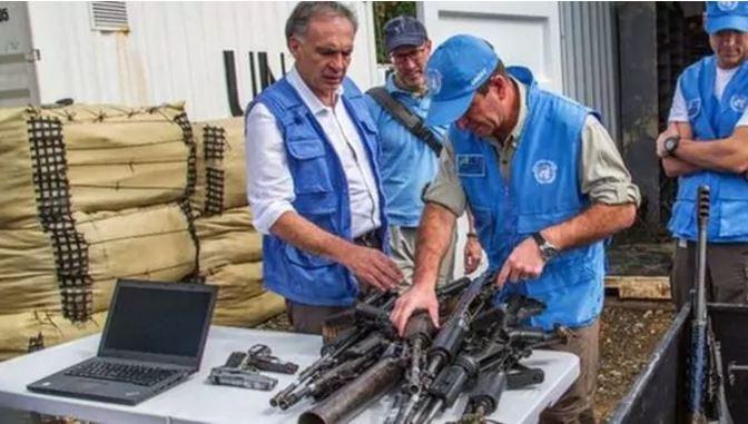 La ONU le entregará a Colombia las armas inutilizadas de las FARC para construir monumentos