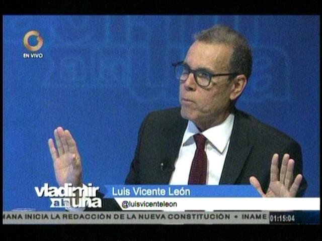 Luis Vicente León: La negociación es fundamental en la política para salir de las crisis