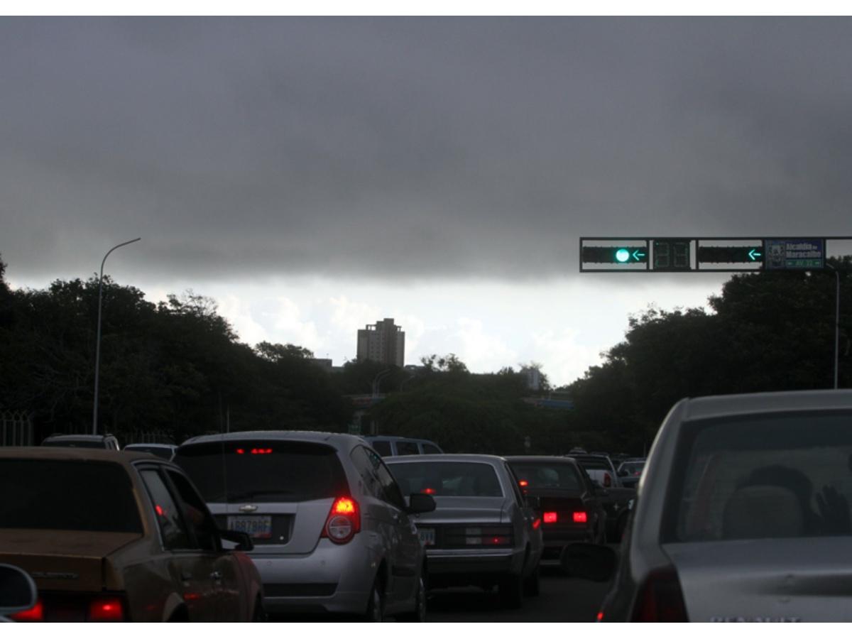 Maracaibo amaneció nublada este miércoles, conoce el pronóstico del Inameh para hoy