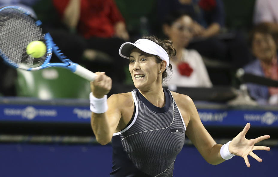 Muguruza vence a Caroline Garcia y avanza a semifinal de Tokio