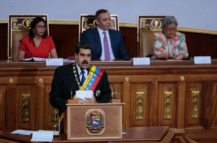 Nicolás Maduro denuncia que banco estadounidense sabotea suministro de alimentos