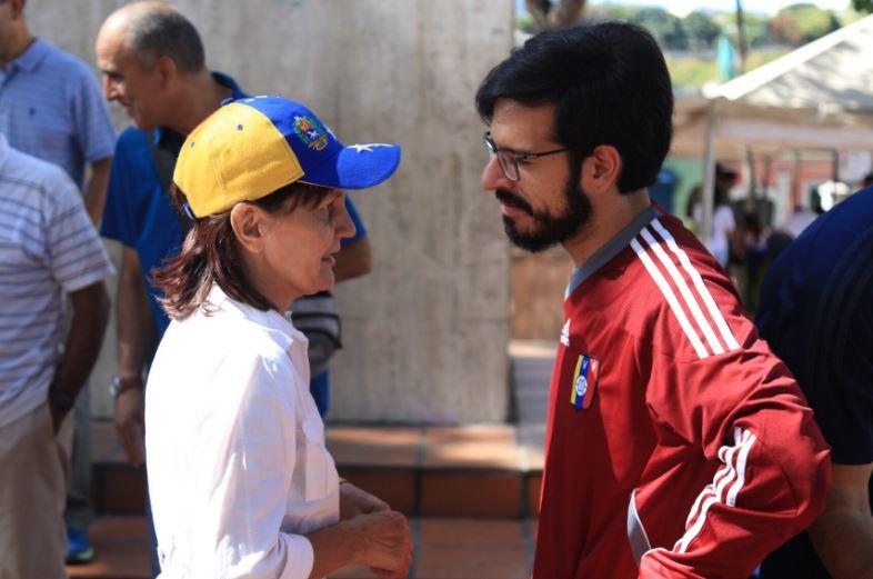 """Pizarro: """"Hoy elegiremos a los líderes que organizarán la lucha contra Maduro"""""""