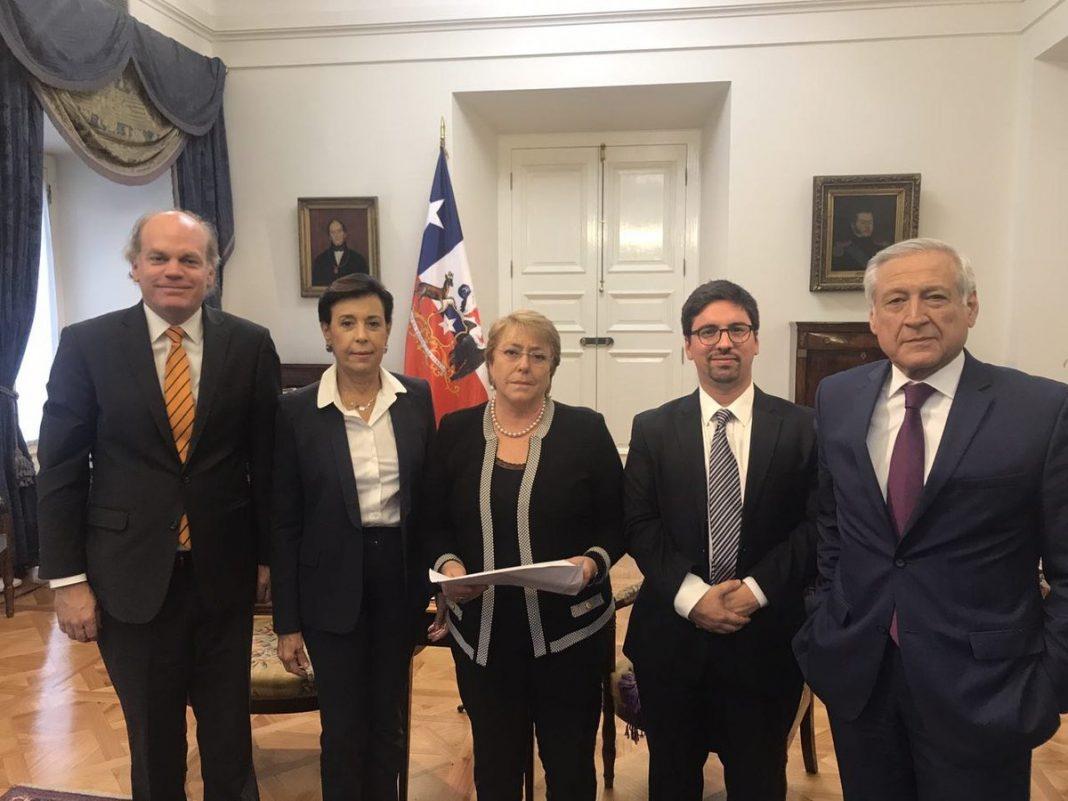 Presidenta de Chile se reunió con Freddy Guevara y Antonieta Mendoza