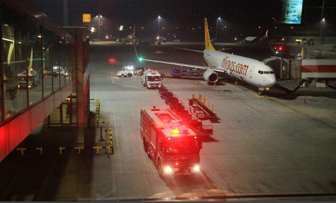 Se estrelló un avión privado en el aeropuerto de Estambul