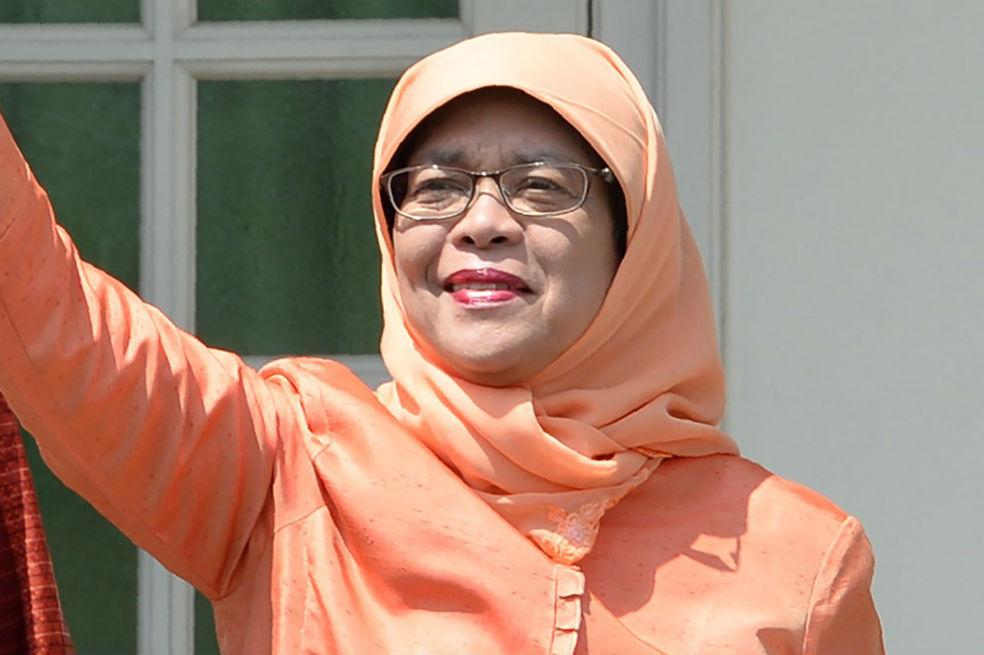 Una musulmana, primera mujer presidenta en Singapur